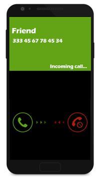 Fake call apk screenshot