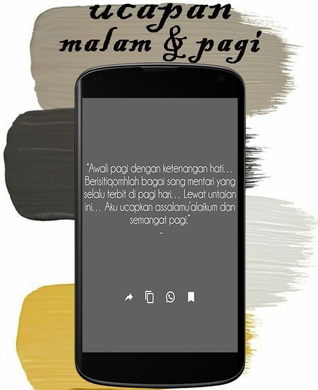 Status Wa Kata Ucapan Selamat Pagi Dan Malam Pour Android Telechargez L Apk