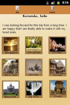 Cherished Memories: Trip Diary apk screenshot