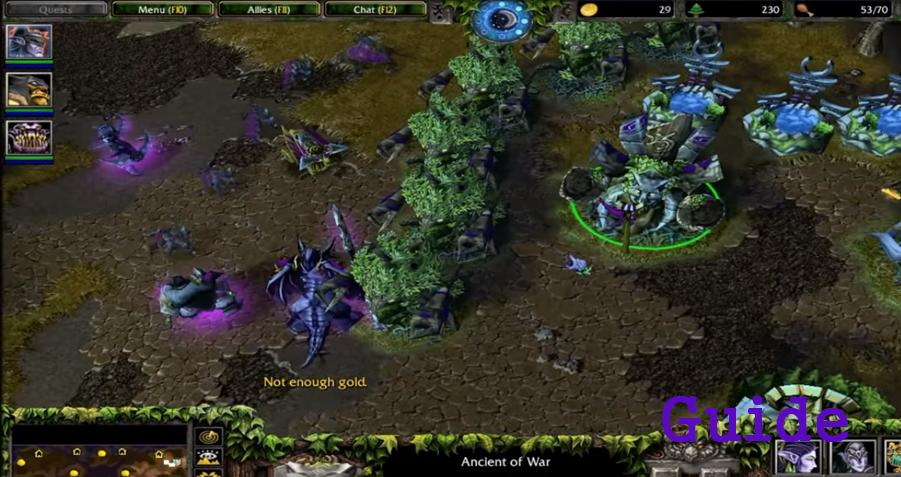 Warcraft III Frozen Throne Tips cho Android - Tải về APK