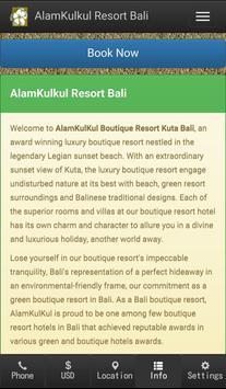 AlamKulkul Boutique Resort apk screenshot