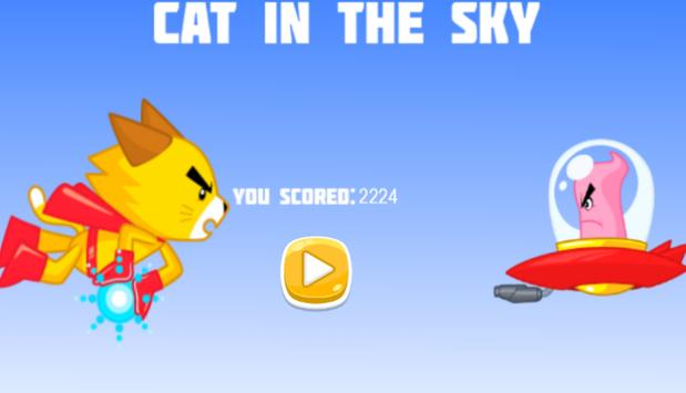 Cat in the sky. apk screenshot