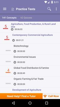 AP Human Geography: Practice Tests and Flashcards apk screenshot
