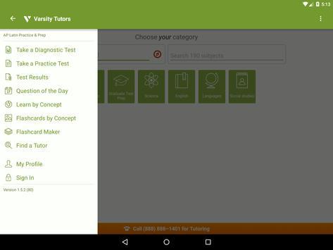 AP Latin Prep: Practice Tests and Flashcards apk screenshot