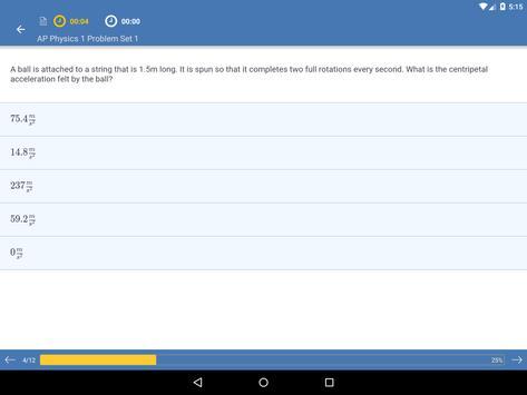 AP Physics 1: Practice & Prep apk screenshot