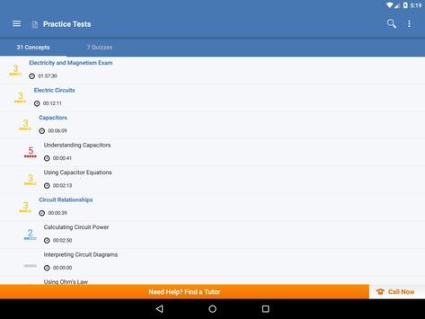 AP Physics C Electricity apk screenshot