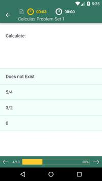 Calculus 1 Prep: Practice Tests and Flashcards apk screenshot