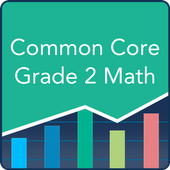 Common Core Math 2nd Grade: Practice Tests, Prep icon