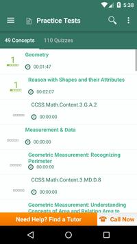 Common Core Math 3rd Grade apk screenshot