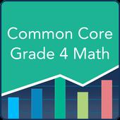 Common Core Math 4th Grade: Practice Tests, Prep icon