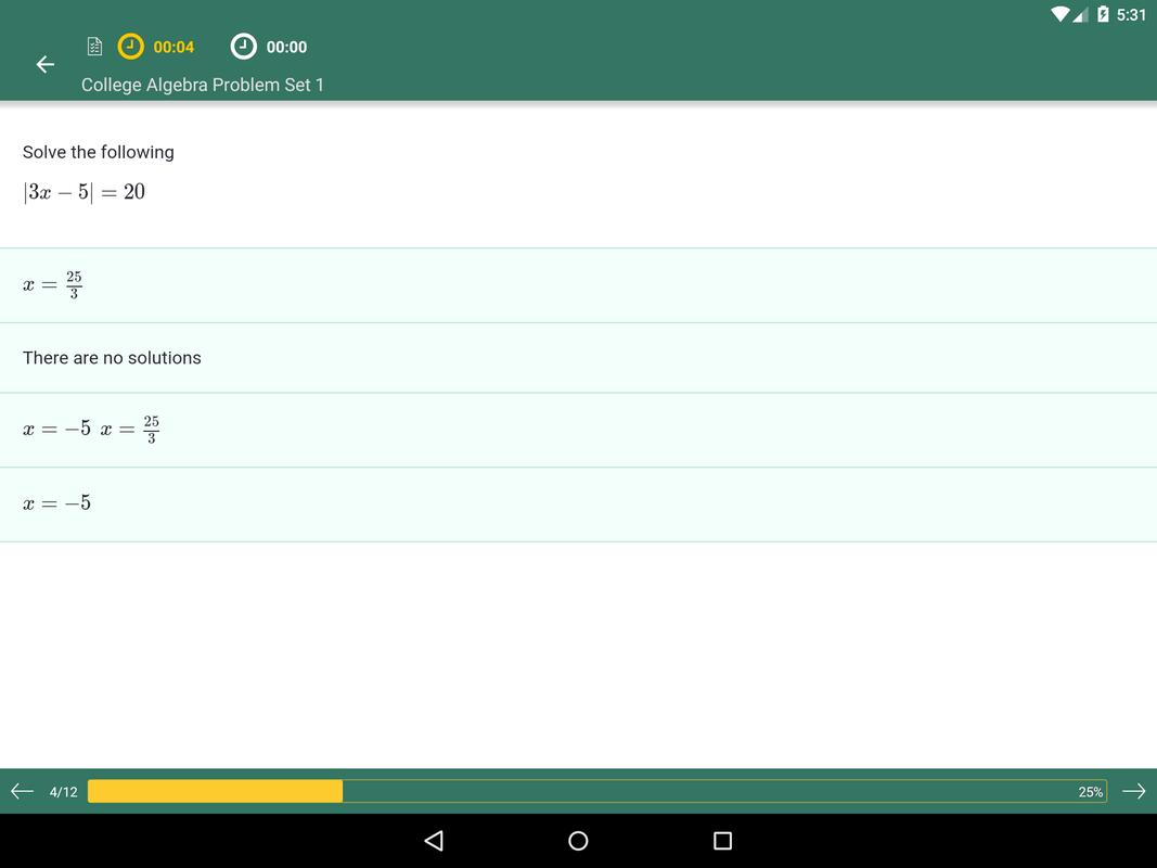 College Algebra: Practice Tests and Flashcards APK Download - Free ...