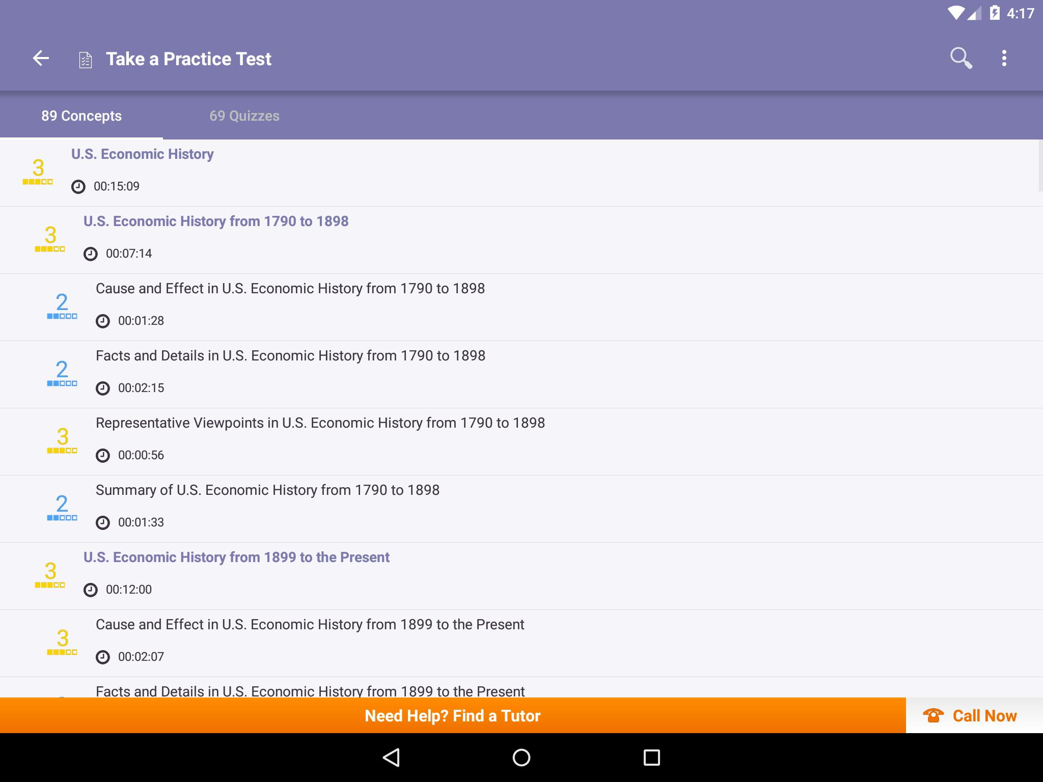 SAT II US History: Practice Tests and Flashcards for Android - APK