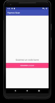 Scanner de code - Faymos Scan poster