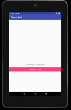 Scanner de code - Faymos Scan screenshot 1