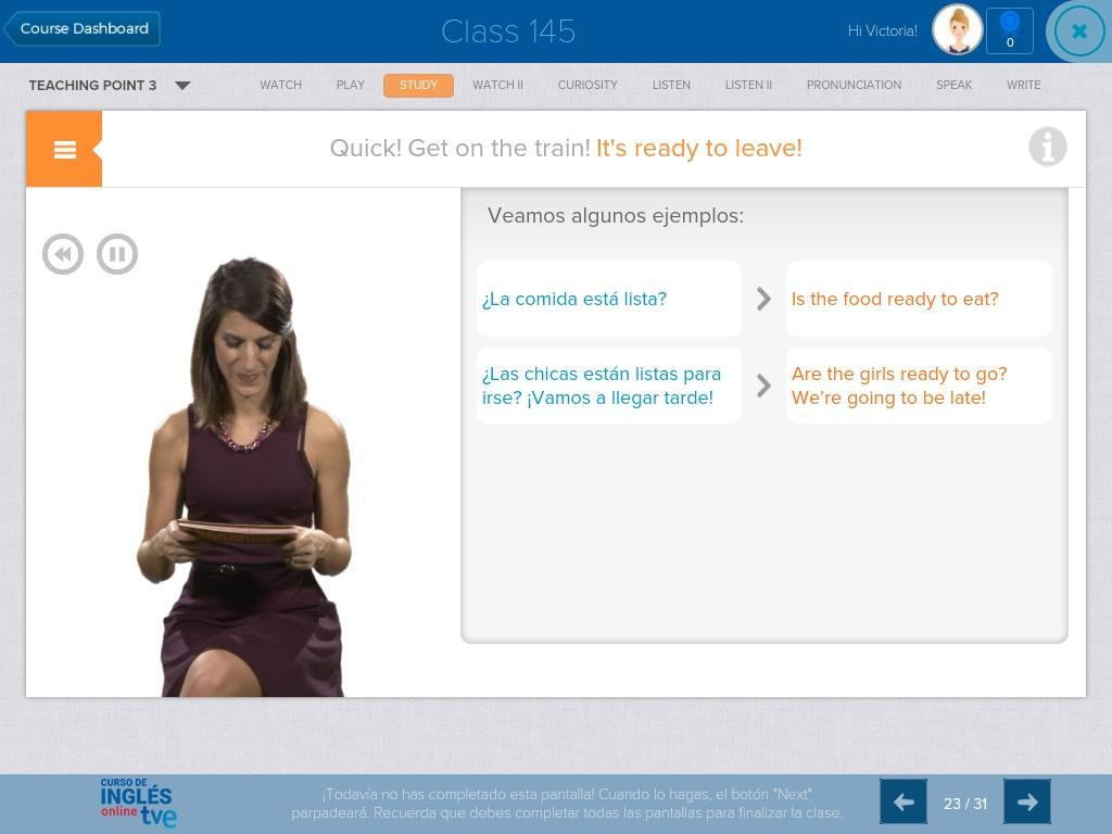 Acceso Curso Ingles Online Tve For Android Apk Download