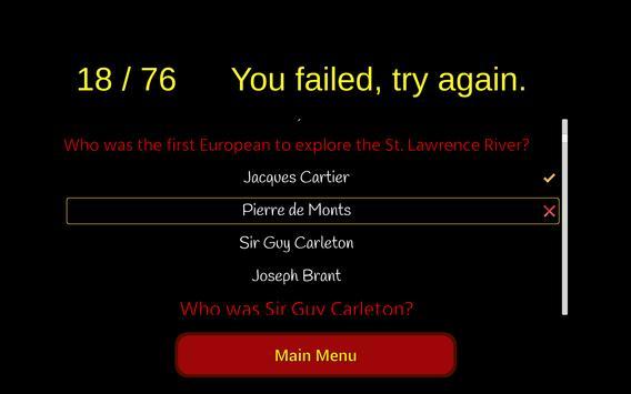 Canadian Citizenship Test 2018 apk screenshot