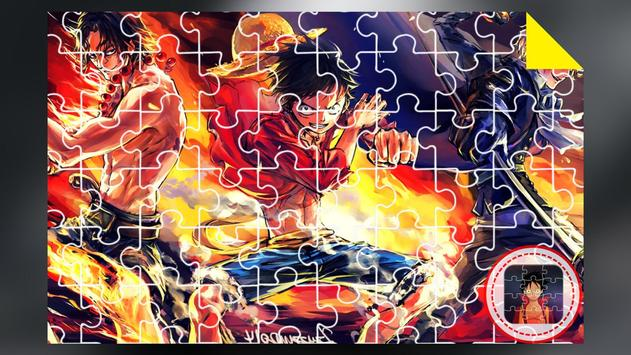 Anime Jigsaw Puzzles Games: Luffy Puzzle Anime poster