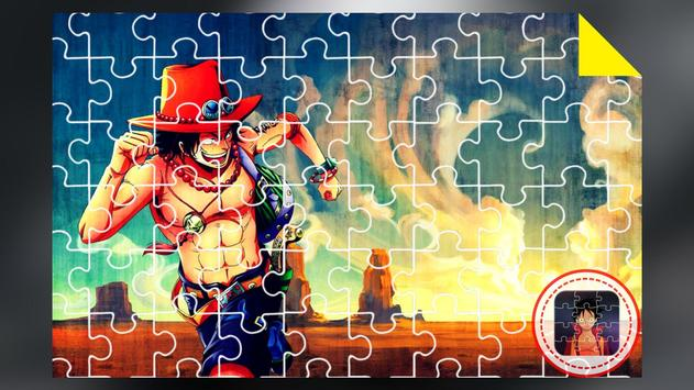 Anime Jigsaw Puzzles Games: Luffy Puzzle Anime screenshot 1