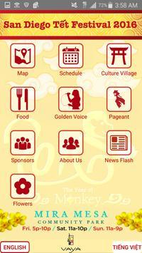 SD Tet Festival poster