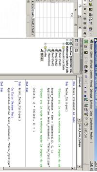Code VBA pour Excel poster