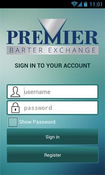 Premier Barter poster