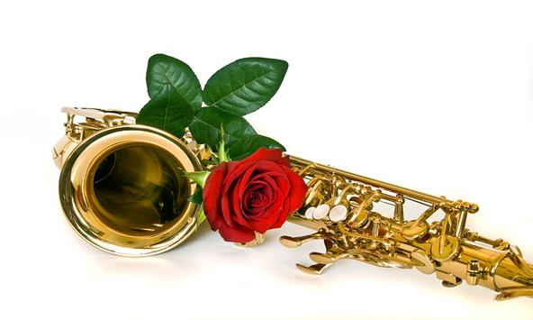 Valentine's Day Saxophone Song poster