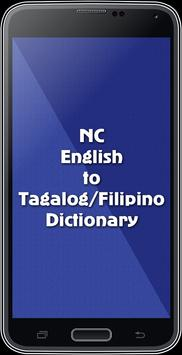 English To Tagalog Dictionary poster