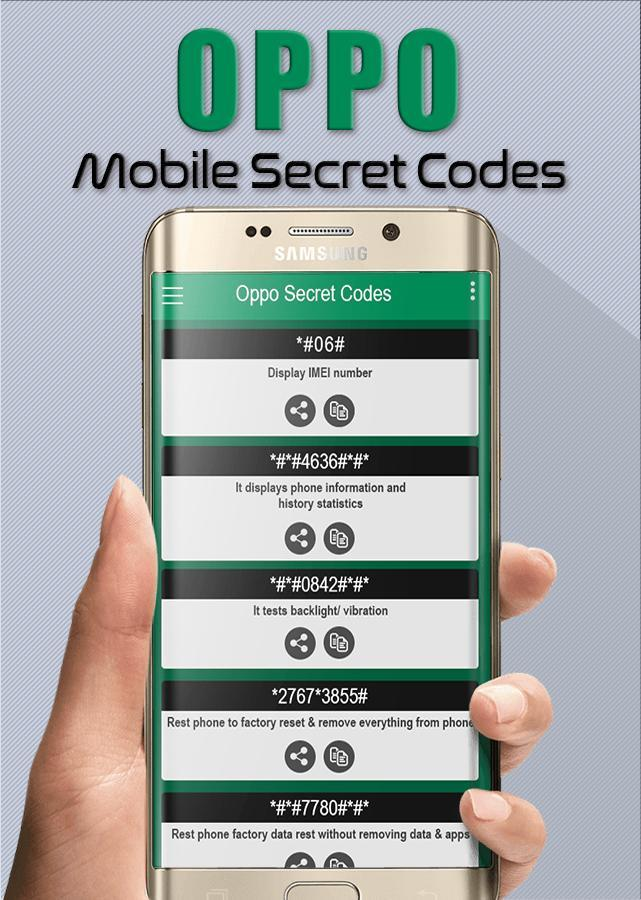 Oppo Mobile Secret Codes for Android - APK Download