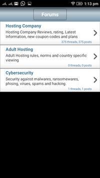 Business Hosting Journal screenshot 2