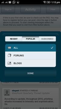 Business Hosting Journal screenshot 3