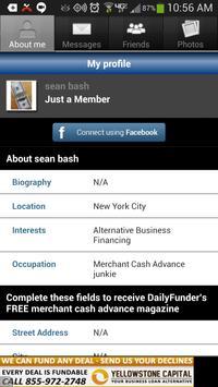 DailyFunder Social Network apk screenshot
