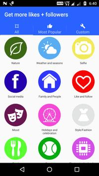 Get more likes + followers Cartaz