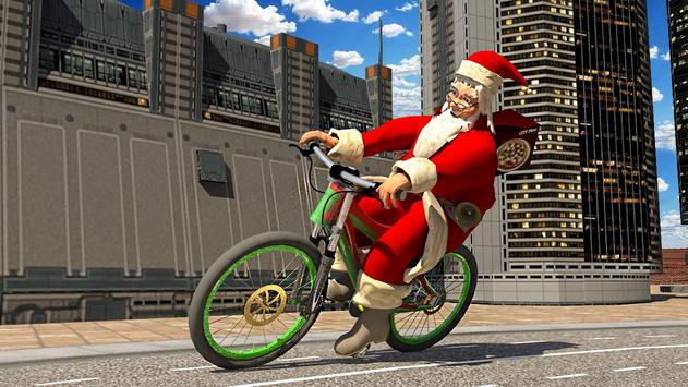 Bicycle Santa Christmas Pizza Delivery screenshot 7