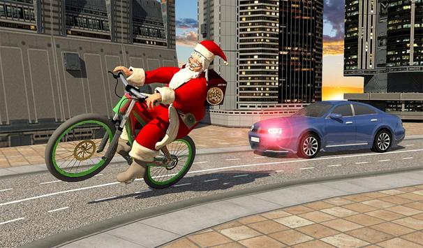 Bicycle Santa Christmas Pizza Delivery screenshot 16