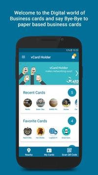 vCard Holder screenshot 2