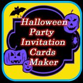 Halloween Party Invitation icon