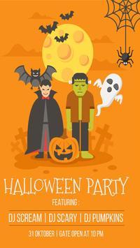 Halloween Party Invitation screenshot 2