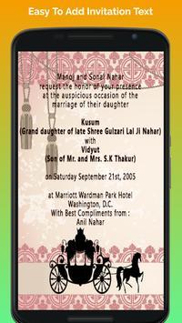 Hindu wedding invitation cards apk baixar grtis social aplicativo hindu wedding invitation cards apk imagem de tela stopboris Images