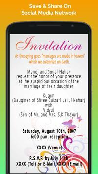 Hindu wedding invitation cards apk download free social app for hindu wedding invitation cards apk screenshot stopboris Images