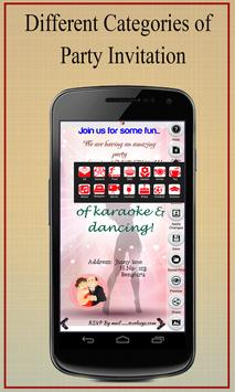 Party invitation card maker apk download free social app for party invitation card maker poster stopboris Images
