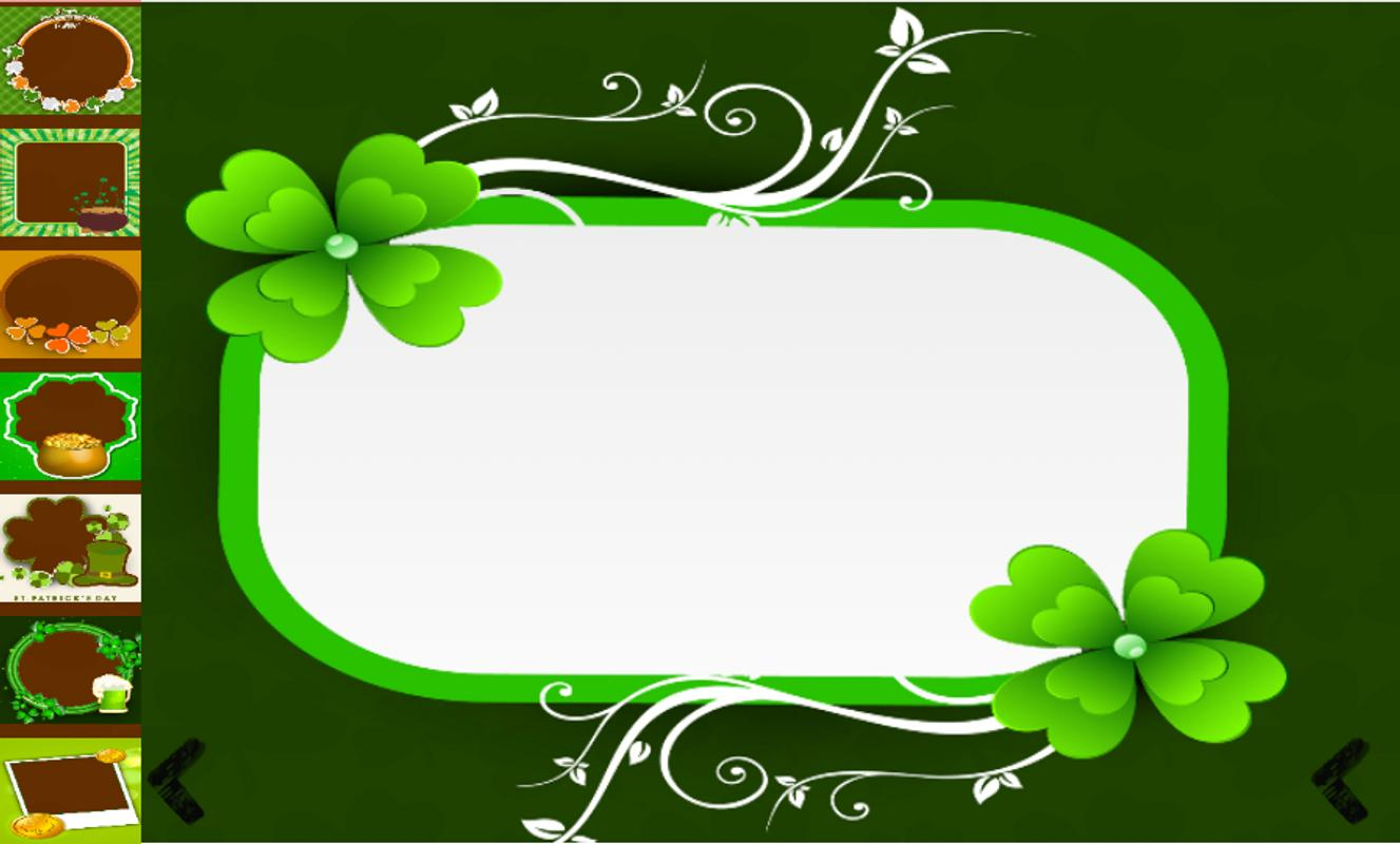 St Patricks Day Frames For Android Apk Download