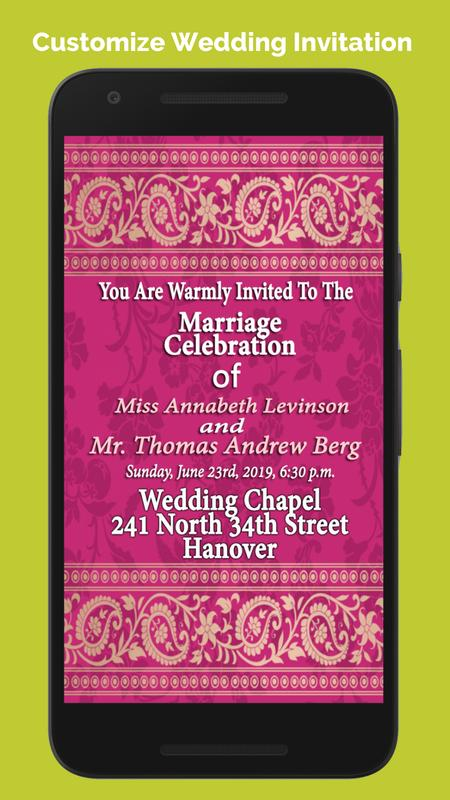 Wedding invitation cards maker apk download free social app for wedding invitation cards maker apk screenshot stopboris Choice Image