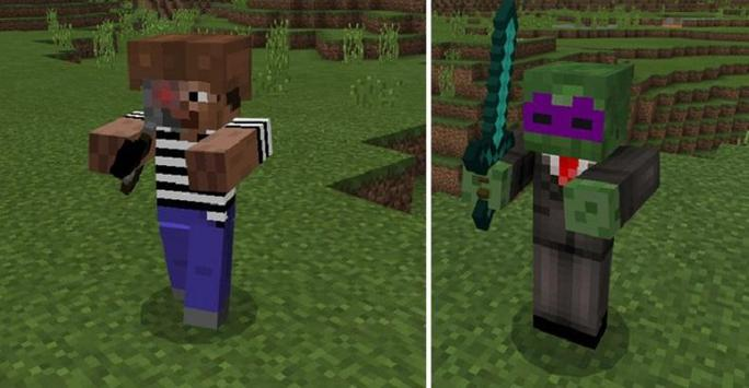 Gangsters Mod for MCPE poster