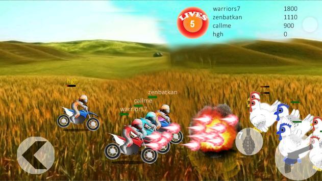 Chicken Vs Racer poster