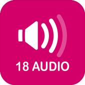 Kho truyện 18 Audio icon