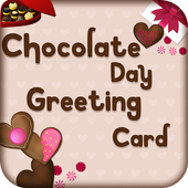 Chocolate Day Greetings Card 2018 icon