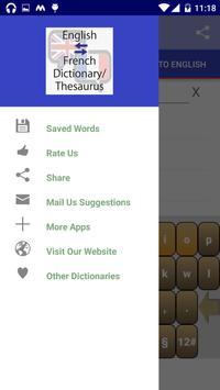 Offline English French Dictionary screenshot 14