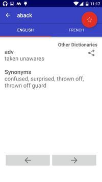 Offline English French Dictionary screenshot 1