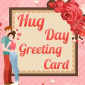 Hug day Greeting Cards 2018 icon