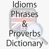Offline Idioms & Phrases Dictionary icon